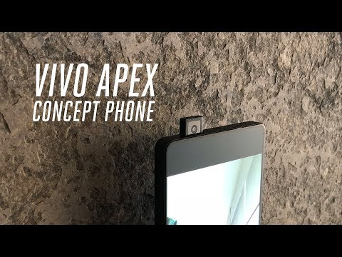Телефонот Vivo Apeх има селфи камера која се издигнува како перископ