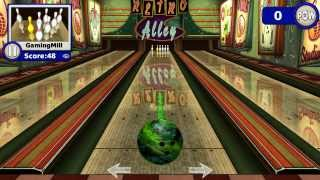 Gutterball Golden Pin Bowling review skittles bowling game on the PC!!!