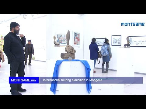 International touring exhibition in Mongolia