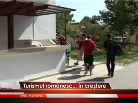 Turismul românesc, în creştere – VIDEO