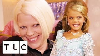 Mum Waxes Her 9 Year Old Daughter's Eyebrows | Toddlers & Tiaras