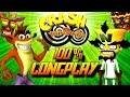 Crash Twinsanity - Complete 100% Walkthrough (All Gems/All Crystals) HD