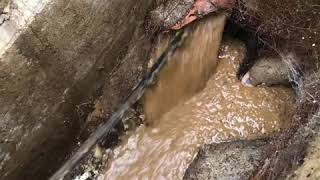 How To Unclog & Unblock A Blocked Sewer Drain.