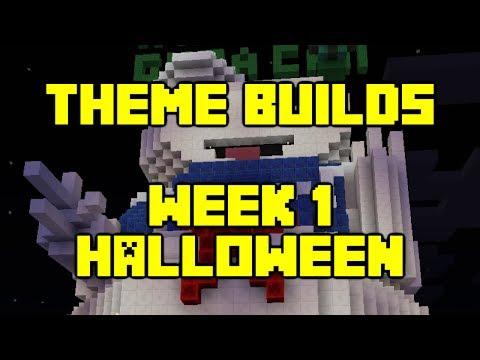 Minecraft - Your Theme Builds - Week 1 - Halloween