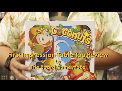 First Impression Table Top Review: Coconuts