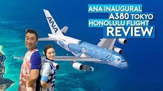 ANA A380 Flying Honu Inaugural Flight Tokyo Honolulu
