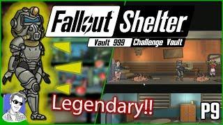 Fallout Shelter Vault 999 First Legendary Dweller P9