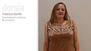 Abdominoplastia - Testimonio Francisca Martín - Clínica Dorsia Barcelona Plaza España