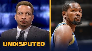 KD's Finals absence shouldn't cause 'confusion' among Warriors — Chris Broussard | NBA | UNDISPUTED