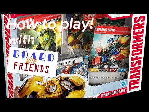 How to play the Transformers Trading Card Game