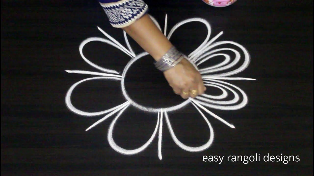 beautiful wedding rangoli without colors