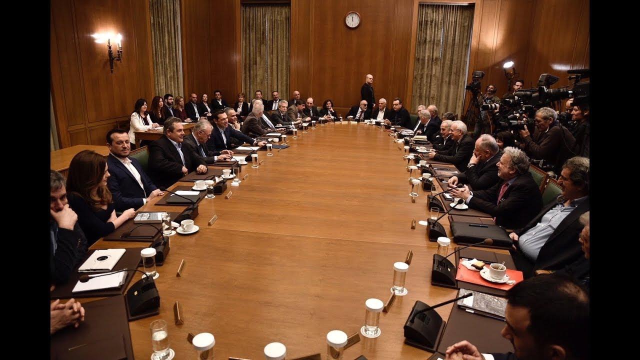 Ομιλία στη συνεδρίαση του Υπουργικού Συμβουλίου