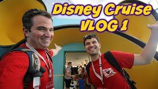 Welcome Aboard the Disney Fantasy! | Disney Cruise VLOG 1