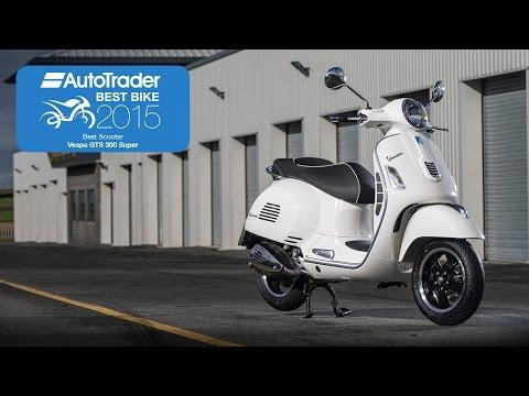 2015 Best Scooter – Vespa GTS 300 Super – Best Bike Awards