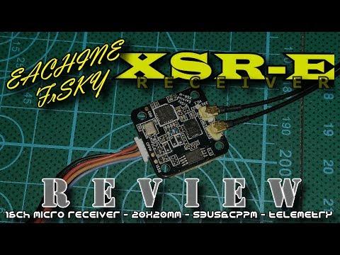 frsky & Eachine XSR-E D16 micro receiver
