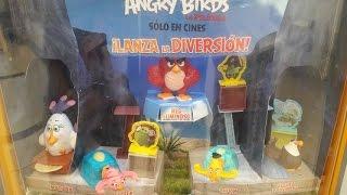 Cajita Feliz McDonald´s Angry Birds La Pelicula (Mayo/Junio 2016)