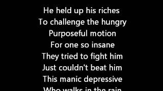 Rush-Cinderella Man (Lyrics)