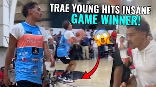 Trae Young Returns Home & Hits GAME WINNER! Quiets Trash Talker With HUGE Second Half 😱