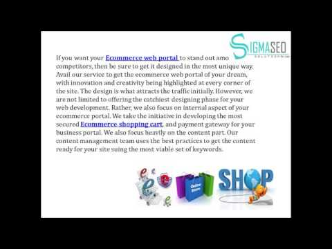 Ecommerce Web Development – Why Avail Our Services