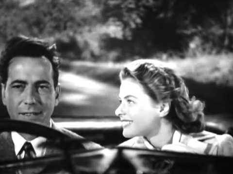 Ingrid Bergman, Humphrey Bogart. Casablanca