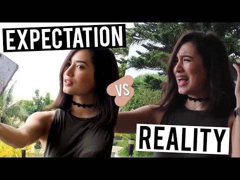 Expectation vs. Reality - Blogger Life | Nicole Andersson