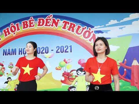 Video bài tập TD giữa giờ của tập thể cán bộ đoàn viên Công đoàn trường MN Đồng Sơn - TP Bắc Giang