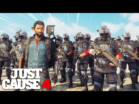 Just Cause 4 - BIGGEST ARMY BATTLE EVER MOD!
