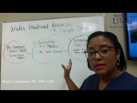 Water Treatment Process in 3 easy steps [Free Dialysis Video Training]