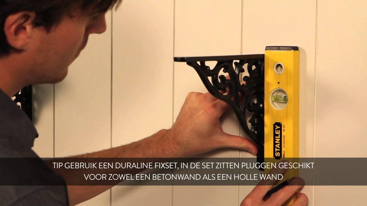 HOW TO: Duraline plankdrager classic monteren