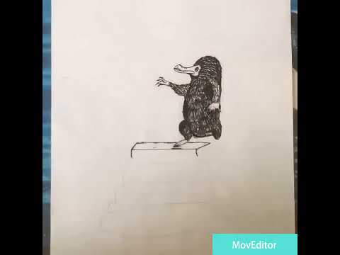 Niffler timelapse drawing