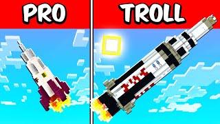 PRO vs TROLL Rocket Build Battle Challenge!