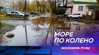 ОНФ проводит в Великом Новгороде конкурс на самую большую лужу