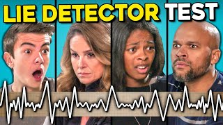 Teens Give Their Parents A Lie Detector Test