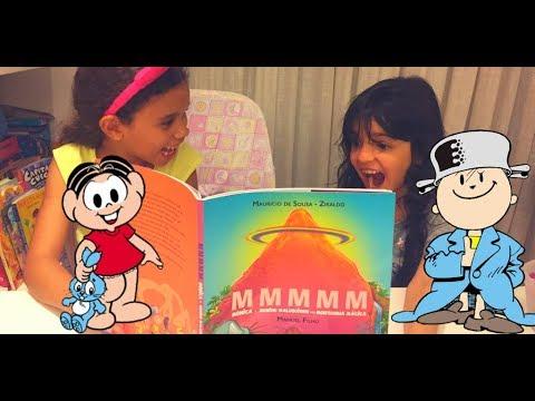 Turma da Mônica e Menino Maluquinho juntos | Livro Infantil