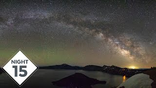 Panorama Crater Lake Milky Way Photography | Night 15 | #TheGreatMilkyWayChase Vlog