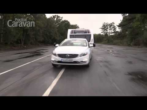 Practical Caravan's tow car review of the Volvo V60 D6 Plug-In Hybrid