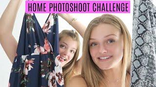 Home Photoshoot & Outfit Challenge ~ Sister Vs Sister ~ Jacy And Kacy
