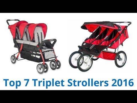 7 Best Triplet Strollers 2016