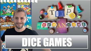 Boardgame Vlog 3: Top Ten Dice Game Mechanics
