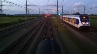 DUTCH TRAINS: ROLLING STOCK CAB VIEW Parallel Action Compilation 2011