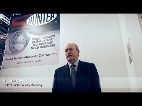 Hunter Introduces HLM Series Machplate Moulding Machine at GIFA 2015