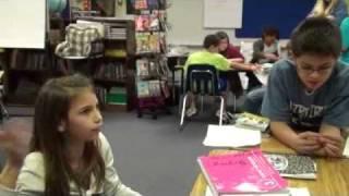 Fourth Grade Literature Circle Discussions