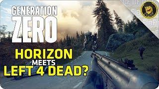 Generation Zero: HORIZON MEETS LEFT 4 DEAD?