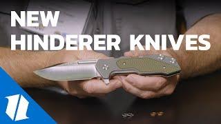 New Hinderer Knives | Blade Show 2018
