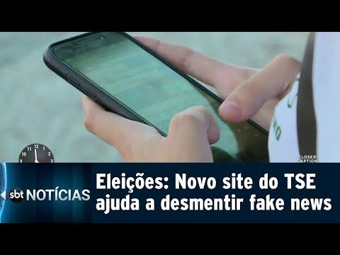 TSE lança site para desmentir às fake news