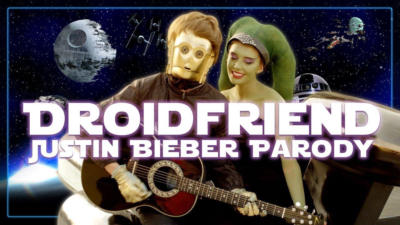 Droidfriend: A Justin Bieber Song Parody
