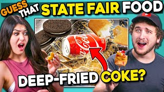 Can YOU Guess That Deep Fried Food? | People Vs. Food