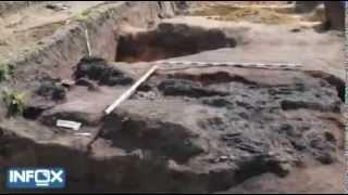 Раскопки Уральских курганов