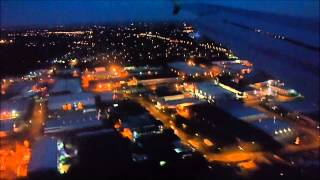 preview picture of video 'British Airways Airbus A319 landing at London Heathrow LHR Terminal 5'
