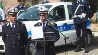 preview picture of video 'SICUREZZA: LA POLIZIA LOCALE DI CIAMPINO INAUGURA IL NUOVO PARCO MEZZI'